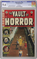 Golden Age (1938-1955):Horror, Vault of Horror #33 Gaines File pedigree 4/11 (EC, 1953) CGC NM+9.6 White pages. Johnny Craig created every single cover fo...