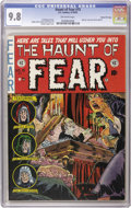 Golden Age (1938-1955):Horror, Haunt of Fear #15 Gaines File pedigree 3/12 (EC, 1952) CGC NM/MT9.8 Off-white pages. Graham Ingels had himself to compete w...