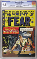 Golden Age (1938-1955):Horror, Haunt of Fear #16 (#2) Gaines File pedigree 2/9 (EC, 1950) CGCNM/MT 9.8 Off-white to white pages. We have offered many Gain...