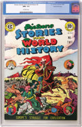 Golden Age (1938-1955):Non-Fiction, Picture Stories From World History #2 Gaines File pedigree 2/11(EC, 1947) CGC NM+ 9.6 Off-white pages. The second of just t...