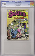 Silver Age (1956-1969):Alternative/Underground, Snatch Comics #3 First Printing File Copy (Apex Novelties, 1969)CGC NM/MT 9.8 Off-white to white pages. Robert Crumb and cr...