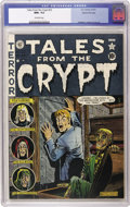 Golden Age (1938-1955):Horror, Tales From the Crypt #23 Gaines File pedigree 3/10 (EC, 1951) CGCNM+ 9.6 Off-white pages. Attention, Al Feldstein fans: Thi...