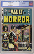Golden Age (1938-1955):Horror, Vault of Horror #18 Gaines File pedigree 3/12 (EC, 1951) CGC NM/MT9.8 White pages. This is one incredible comic book. One e...