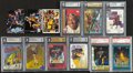 Basketball Cards:Lots, 1996 - 2001 Multi-Brand Kobe Bryant Card Collection (12). ...