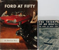 Books:Americana & American History, Ford Automotive [subject]. Group of Two Books. Various publishers,1935-1953. Publisher's binding and djs. Very good.... (Total: 2Items)