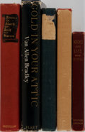 Books:Books about Books, [Books About Books]. Group of Five Related Books. Various editions and publishers. Publisher's binding and two in dj. Good o... (Total: 5 Items)