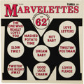 """Music Memorabilia:Recordings, Marvelettes """"Smash Hits of 62"""" LP (Tamla 229, 1962). This is therarest album from the groundbreaking Motown """"Girl Group"""", M...(Total: 1 Item)"""