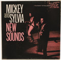 """Music Memorabilia:Recordings, Mickey and Sylvia """"New Sounds"""" Promo Mono LP (Vik 1102, 1957). What a power couple in Rock and Roll's early days! Check out ... (Total: 1 Item)"""