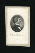 Miscellaneous:Other, William H. Seward BEP Portrait Card. This is an older card that hasbeen cut down and mounted on heavy card stock that displ...