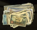 World Currency: , World Notes. There is duplication in this lot that includes JIM, AMC, Japan, Russia, Korea, France, Latin America, and other... (Total: 113 notes)