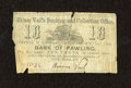 Obsoletes By State:Mixed States, Amenia, NY- Hiram Vail's Banking and Collection Office 10¢ Oct. 1, 1862. ...