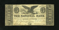 Obsoletes By State:Rhode Island, Providence, RI- National Bank $3 Oct. 4, 1854. This is a spurious design on this bank, but it imitates a rough verbal descri...