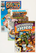 Modern Age (1980-Present):Humor, Groo the Wanderer Group (Marvel, 1982-93) Condition: Average FN....