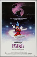 """Movie Posters:Animation, Fantasia (Buena Vista, R-1985). One Sheet (27"""" X 41"""") & Lobby Cards (3) (11"""" X 14""""). Animation.. ... (Total: 4 Items)"""