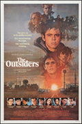 "Movie Posters:Crime, The Outsiders (Warner Brothers, 1982). One Sheet (27"" X 41""). Crime.. ..."