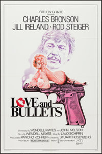 """Love and Bullets (Associated Film Distribution, 1979). One Sheet (27"""" X 41""""). Crime"""