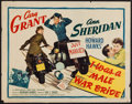 "Movie Posters:Comedy, I Was a Male War Bride (20th Century Fox, 1949). Half Sheet (22"" X 28""). Comedy.. ..."