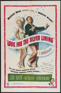 "Movie Posters:Musical, Look for the Silver Lining (Warner Brothers, 1949). One Sheet (27"" X 41""). Musical.. ..."