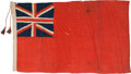 Military & Patriotic:WWI, Early 20th Century British Merchant Navy Ensign....