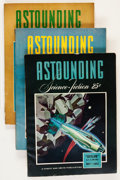 Pulps:Science Fiction, Astounding Stories Group (Street & Smith, 1942).... (Total: 3Items)