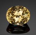 Gems:Faceted, YELLOW SAPPHIRE - 9.6 CT.. No origin given. ...