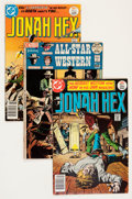 Bronze Age (1970-1979):Western, Jonah Hex Group (DC, 1972-77) Condition: Average VF/NM.... (Total: 4 Comic Books)