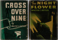 Books:Mystery & Detective Fiction, Walter C. Butler. Group of Two First Edition, First Printing Books.Macaulay, 1935-1936. Publisher's binding and dj. Very go... (Total:2 Items)