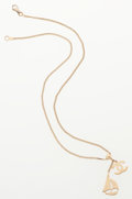 Luxury Accessories:Accessories, Chanel Gold Chain Necklace with Yacht Pendant. ...