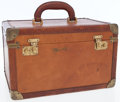 Luxury Accessories:Travel/Trunks, Louis Vuitton Tan Leather Bagagerie Train Case. ...