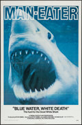 """Movie Posters:Documentary, Blue Water, White Death (National General, 1971). One Sheet (27"""" X 41""""). Documentary.. ..."""