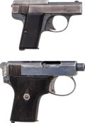Handguns:Semiautomatic Pistol, Lot of Two Semi-Automatic Pistols (Liliput and Webley & Scott).... (Total: 2 Items)