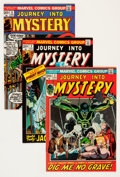 Bronze Age (1970-1979):Horror, Journey Into Mystery Group - Savannah pedigree (Marvel, 1972-74)Condition: Average VF/NM.... (Total: 13 Comic Books)