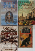 Books:Literature 1900-up, Bernard Cornwell. Group of Four Related First Edition, FirstPrinting Books. Various publishers. Near fine or better conditi...(Total: 4 Items)