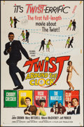 "Movie Posters:Rock and Roll, Twist Around the Clock (Columbia, 1961). One Sheet (27"" X 41"") andLobby Card Set of 8 (11"" X 14""). Rock and Roll.. ... (Total: 9Items)"