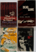 Books:Mystery & Detective Fiction, [Mystery]. Michael Avallone and Ben Benson. Group of Four FirstEdition, First Printing Books. Various publishers. Very good...(Total: 4 Items)