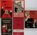 Books:Mystery & Detective Fiction, Henry Cecil. Group of Five First Edition, First Printing Books, OneInscribed and One with ALS Laid In. Various publisher's.... (Total:5 Items)