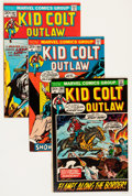 Silver Age (1956-1969):Western, Kid Colt Outlaw Group - Savannah pedigree (Marvel, 1972-79)Condition: Average VF+.... (Total: 48 Comic Books)