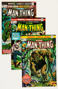 Bronze Age (1970-1979):Horror, Man-Thing #1-22 Group - Savannah pedigree (Marvel, 1974-75)Condition: Average NM-.... (Total: 22 Comic Books)