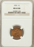 Indian Cents: , 1876 1C MS63 Red and Brown NGC. NGC Census: (29/239). PCGSPopulation (103/283). Mintage: 7,944,000. Numismedia Wsl. Price ...