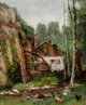 Attributed to CHERUBINO PATA (Italian, 1827-1899) Vue de Moulin, 1876 Oil on canvas 22 x 18 inches (55.9 x 45.7 cm)