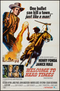 "Movie Posters:Western, Welcome to Hard Times and Other Lot (MGM, 1967). One Sheets (2) (27"" X 41""). Western.. ... (Total: 2 Items)"
