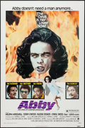 "Movie Posters:Blaxploitation, Abby (American International, 1974). One Sheet (27"" X 41"").Blaxploitation.. ..."