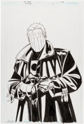 Original Comic Art:Covers, Chris Sprouse Midnighter #13 Cover Original Art (DC,2008)....