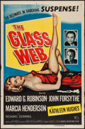 "Movie Posters:Crime, The Glass Web (Universal International, 1953). One Sheet (27"" X41""). Crime.. ..."