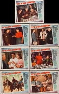 """Movie Posters:Comedy, It's a Big Country (MGM, 1951). Lobby Cards (7) (11"""" X 14""""). Comedy.. ... (Total: 7 Items)"""