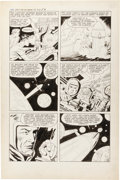 """Original Comic Art:Panel Pages, Jack Kirby and Al Williamson Race for the Moon #3 """"Garden ofEden"""" Page 5 Original Art (Harvey, 1958)...."""