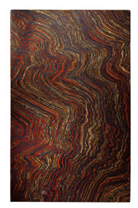 SPECTACULAR AND COLORFUL TIGER IRON TABLETOP Ord Ranges, Pilbara, Western Australia