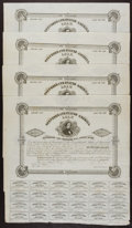 Confederate Notes:Group Lots, Ball 106 Cr. 95A $1000 1861 Bond Four Examples Very Fine or Better.. ... (Total: 4 items)