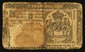 Colonial Notes:New York, New York April 15, 1758 £5 Good.. ...