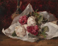 Fine Art - Painting, American:Antique  (Pre 1900), ROSS STERLING TURNER (American, 1847-1915). Bouquet ofRoses, 1879. Oil on canvas. 16-3/4 x 21-1/2 inches (42.5 x 54.6c...